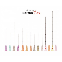 Microcânulas Derma Flex 18G x 70 MM